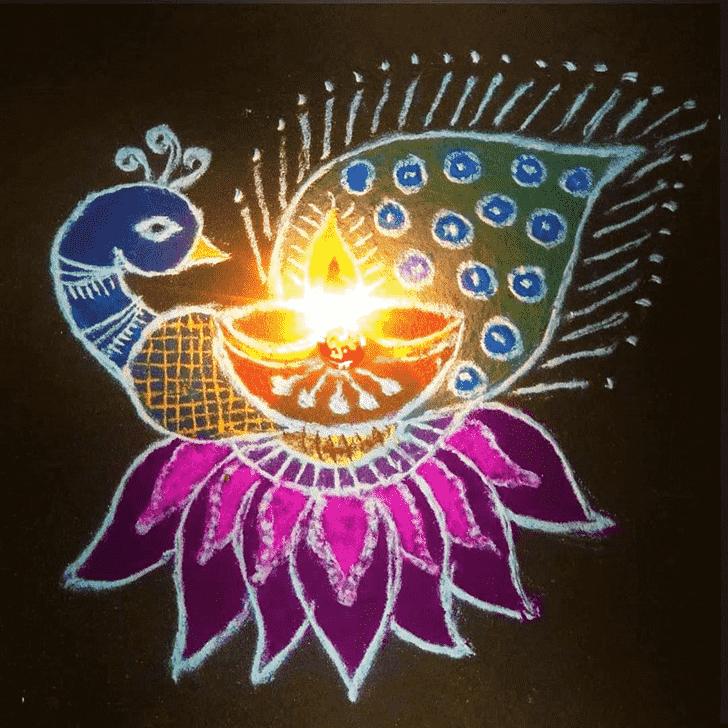 Fair Diwali Rangoli