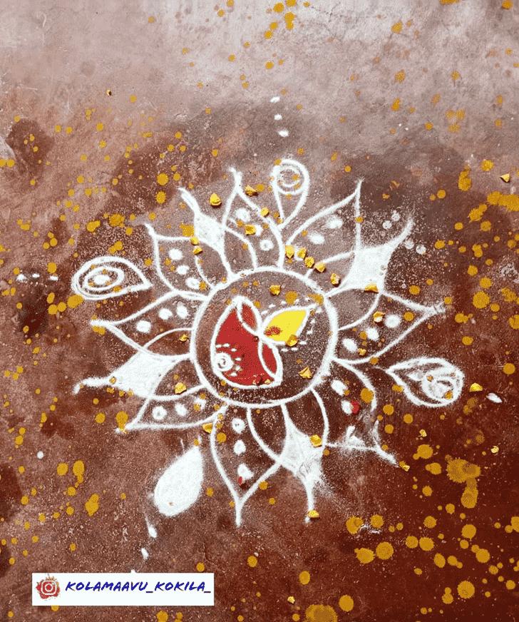 Fetching Diwali Rangoli