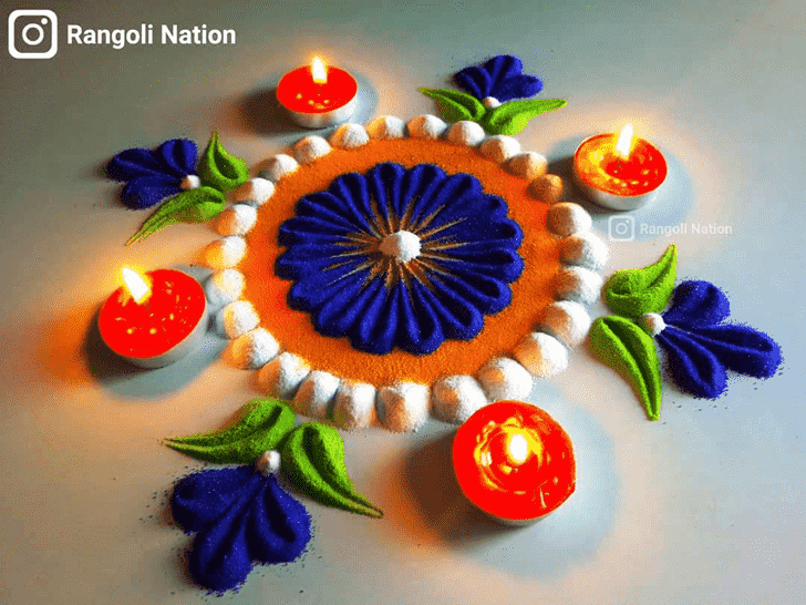 Marvelous Diwali Rangoli