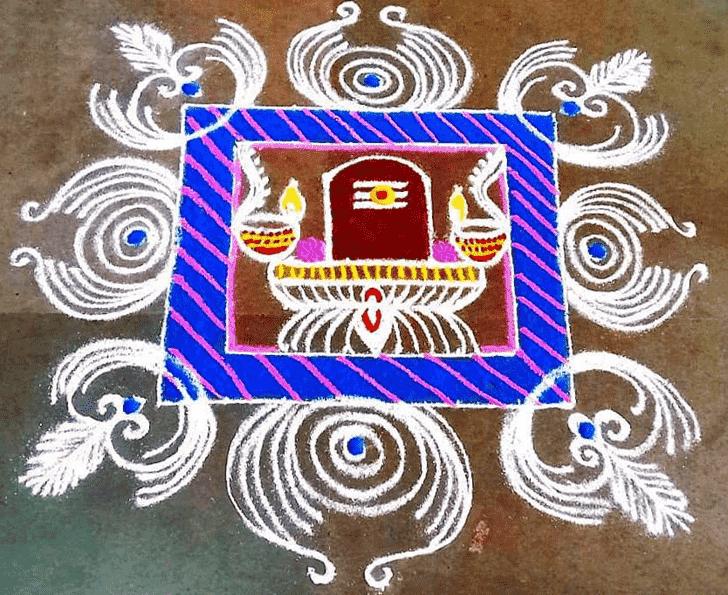 Hard Festival Rangoli