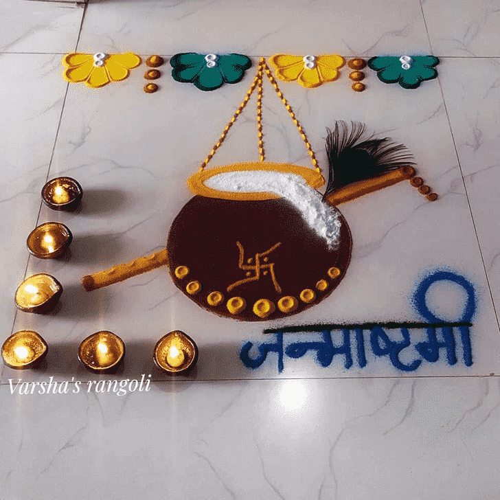 Graceful Festival Rangoli