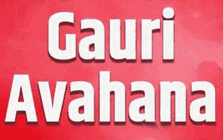 Gauri Avahana Rangoli Design