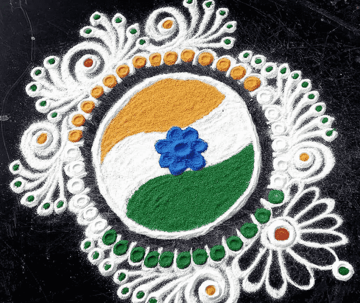 Beauteous Indian Rangoli