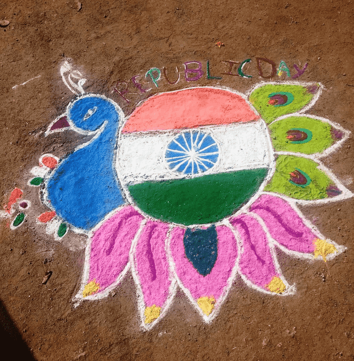 Bewitching Indian Rangoli