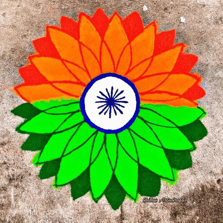 Charming Indian Rangoli