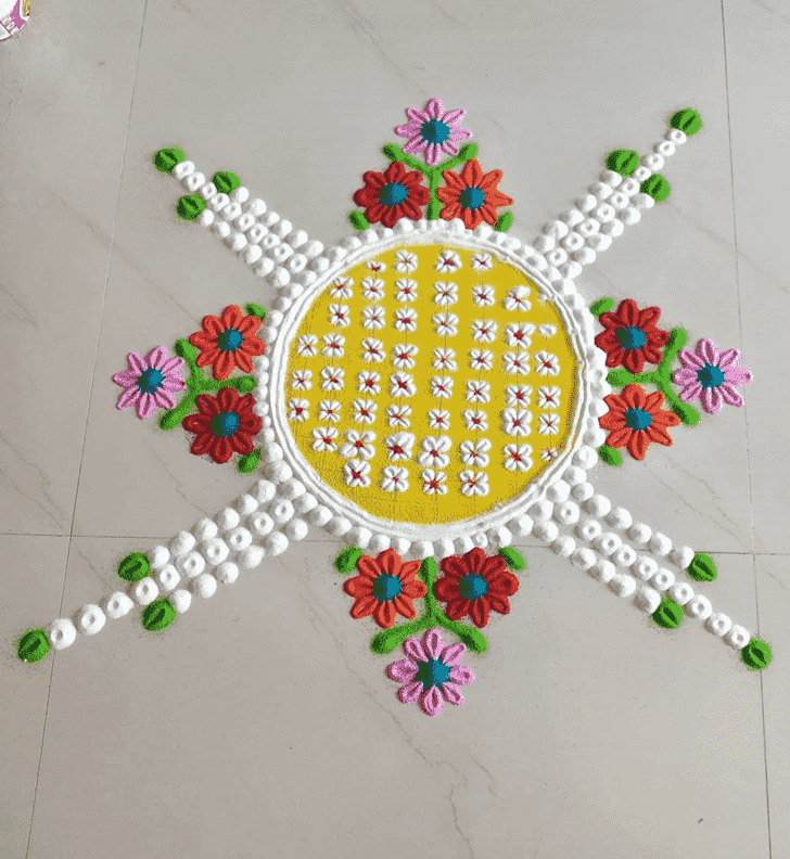 Classy Kamika Ekadashi Rangoli