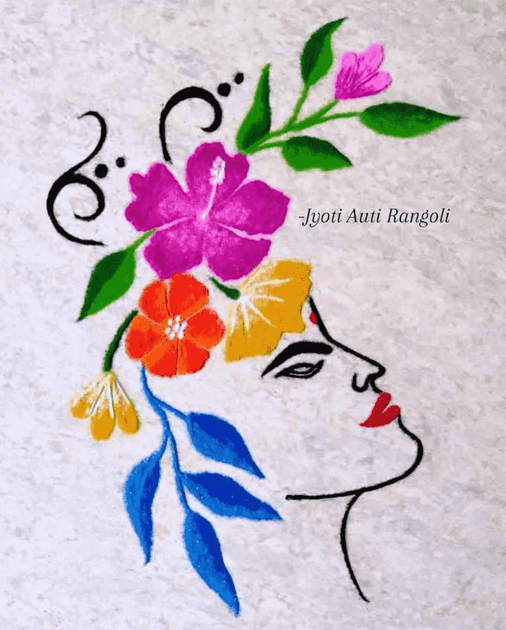 Enticing Kamika Ekadashi Rangoli
