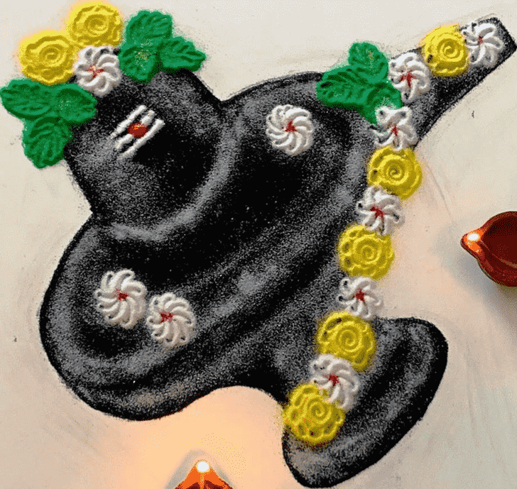Adorable Maha Shivaratri Rangoli