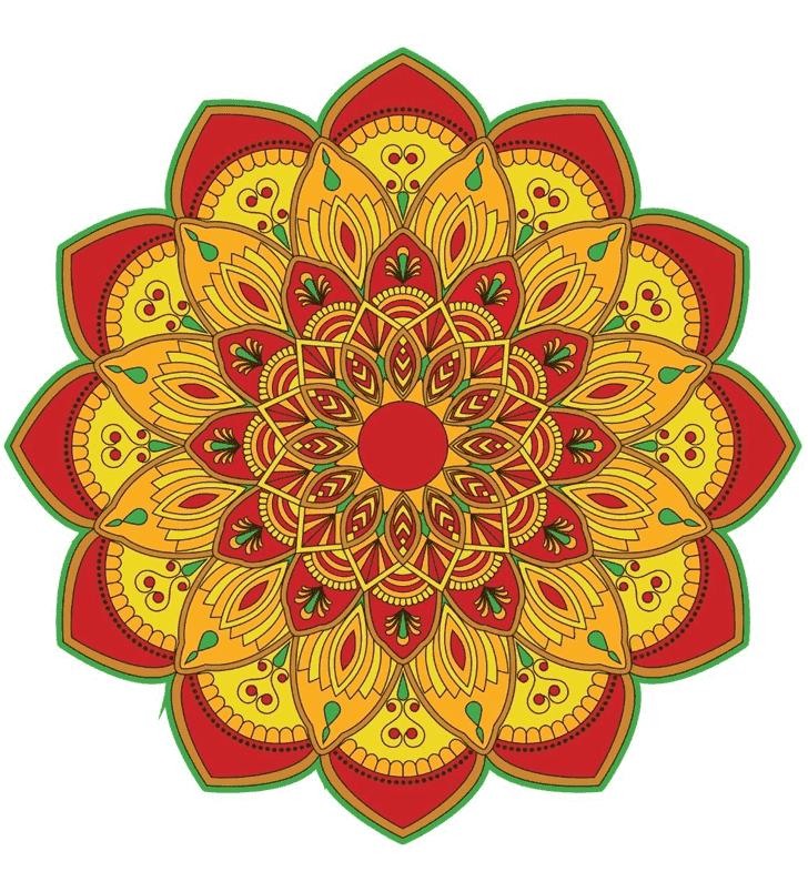Appealing Paint Rangoli