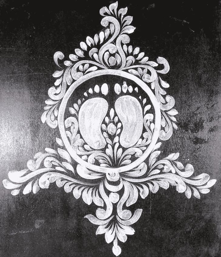 Bewitching Paint Rangoli