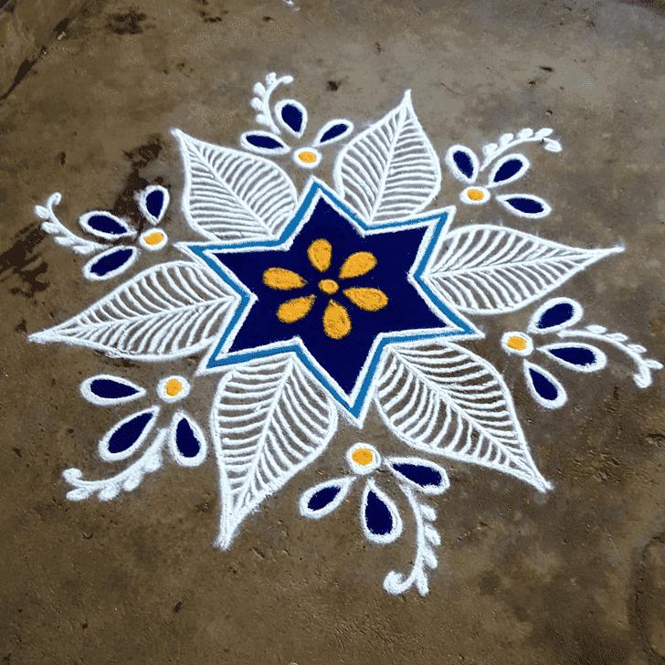 Angelic Rajasthani Rangoli