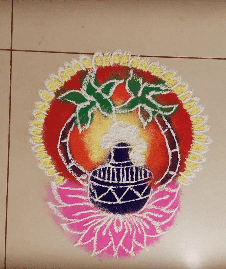 Captivating Rama Ekadashi Rangoli