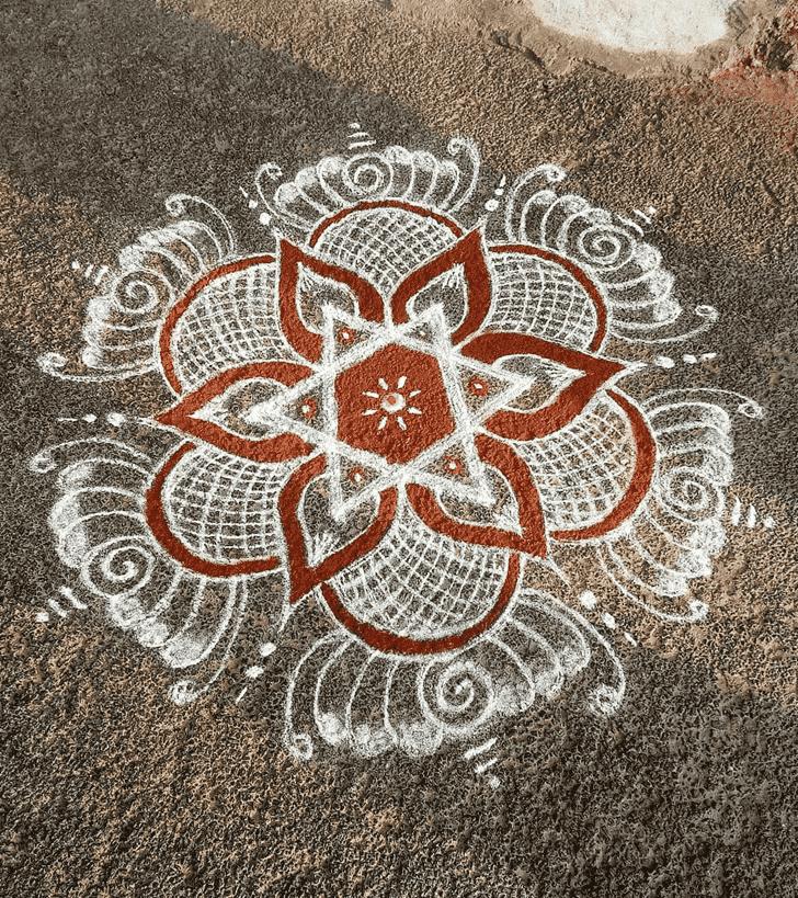 Captivating Rishi Panchami Rangoli