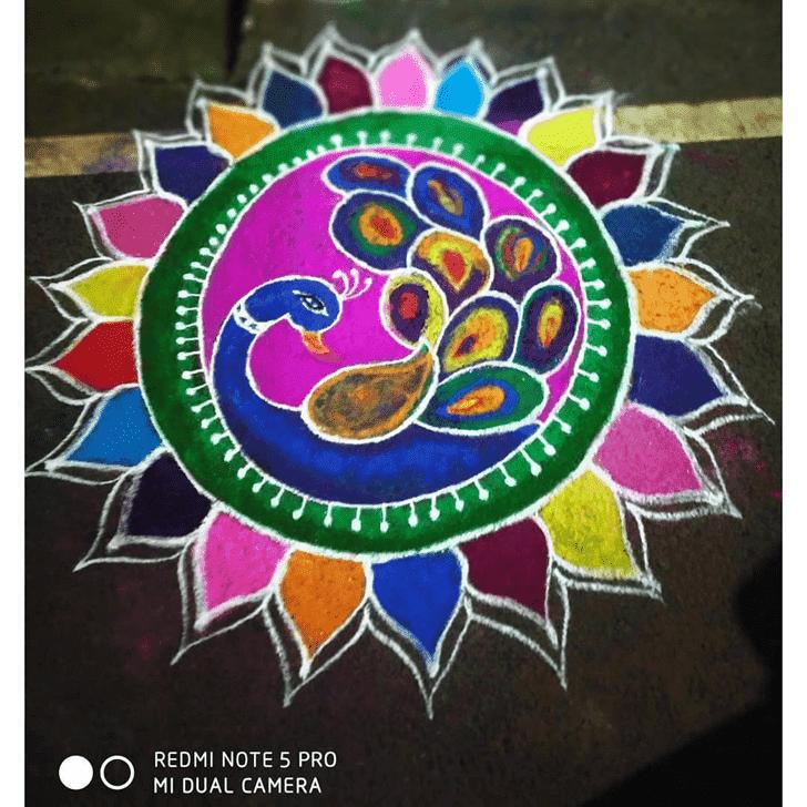 Captivating Sita Navami Rangoli