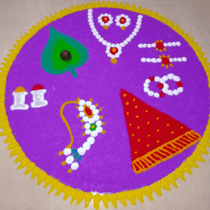 Fascinating Somvati Amavasya Rangoli