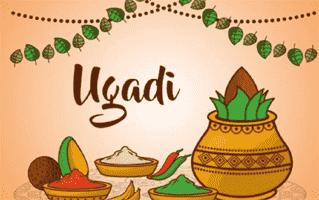 Ugadi Rangoli Design