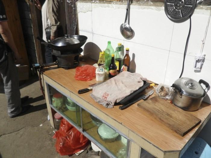 土楼のキッチン2