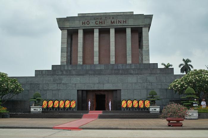 ハノイを歩いた - ホーチミン廟周辺
