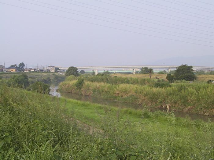 大阪方面へ向かって撮影