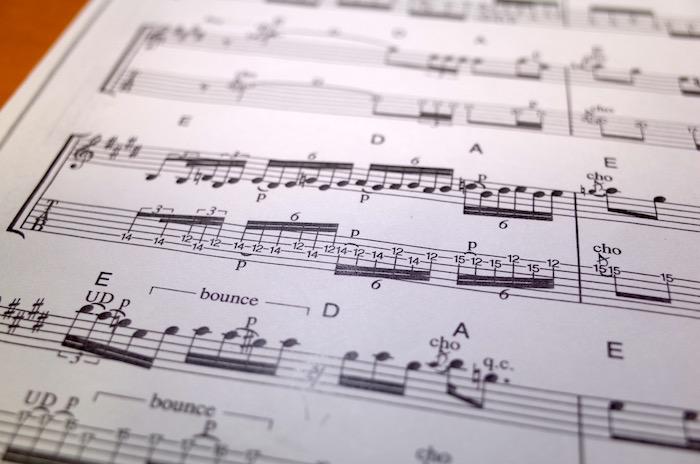 """Variations 10"" の6連符部分"