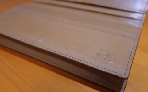 シンプルで上質な日本製革財布を購入した