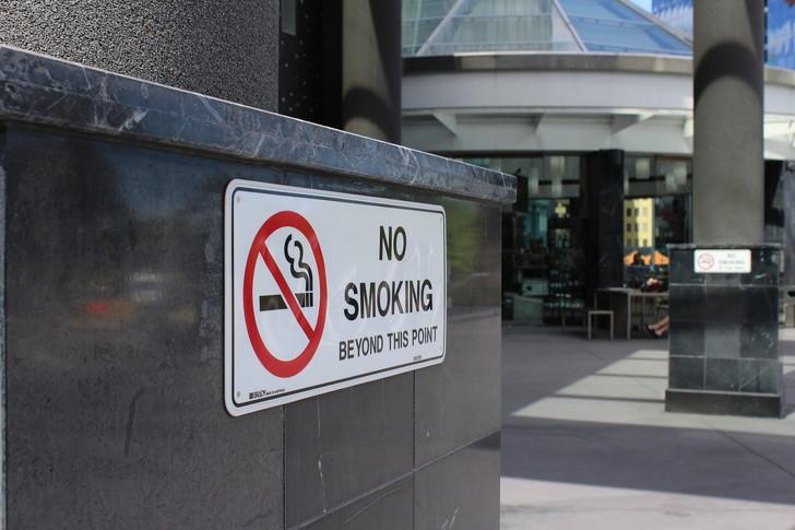 喫煙可能な飲食店には入りたくない