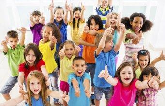 kids cuts colourful