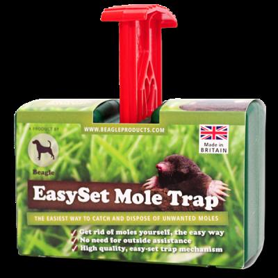 EasySet Mole Trap Red Handle