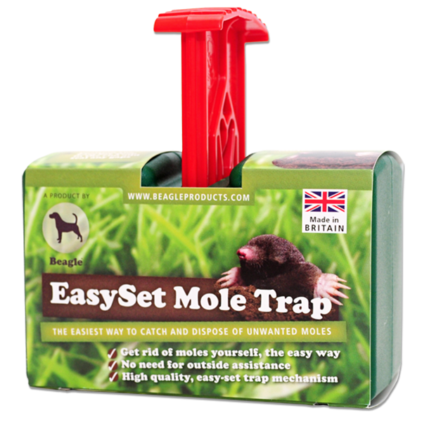 EasySet Mole Trap Red Handle