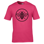Manchester Bee – Outline in Circle