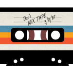 Personalised Clothing: Mix Tape