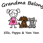 This Mummy/Grandma Belongs To (Add Your Own Names & Select The Children/Pets)
