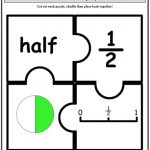 Fraction Puzzles, Have Fun Learning Cut & Sort