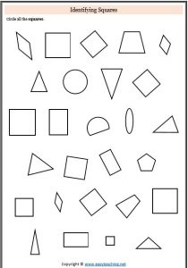 2D Shapes and 3D Shape Activities & Worksheets