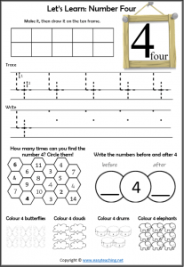 Number Worksheets Place Value And Operations Easyteaching Net
