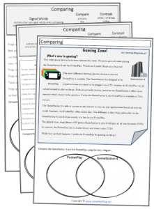 Reading Comprehension Worksheets & Resources