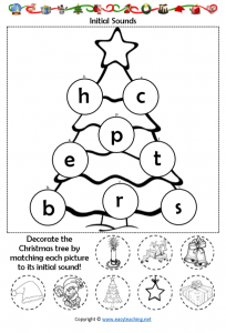 Christmas Literacy Activities and Worksheets to Print