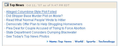 Top New from AOL
