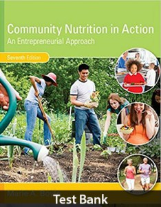 Community Nutrition in Action An Entrepreneurial Approach 7th Edition Test Bank By Boyle