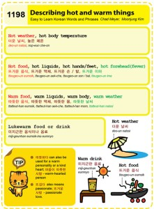1198-Describing hot and warm things