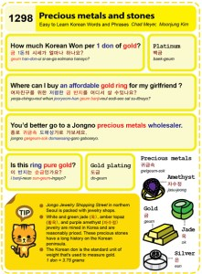 1298-Precious metals and stones