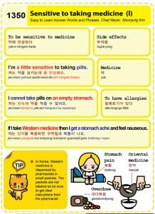 1350 - Sensitive to taking medicine 1