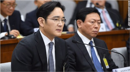 Arrest warrant issued for Samsung heir.