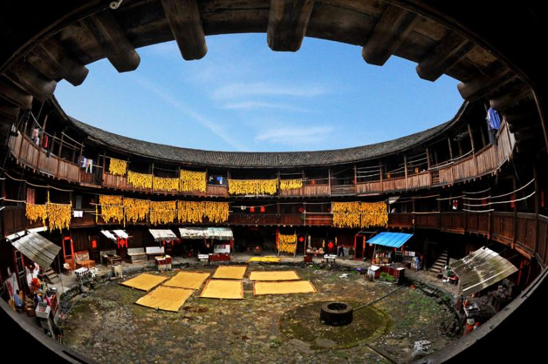 China Hakka tulou tour