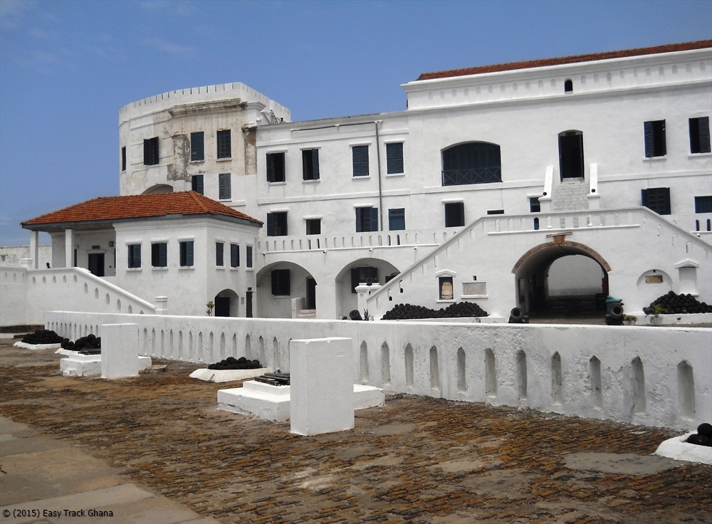 Elmina Castle (Photo Credit: easytrackghana.com)