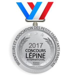 Medaille du concours Lépine 2017