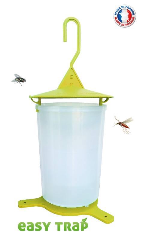 Mouches piège insectes piège obstfliegen piège verre avec pied Lauscha qualité