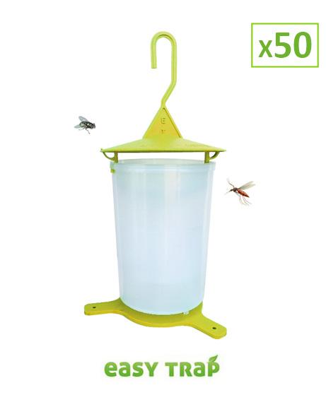 Piège à mouche efficace - Lot de 50
