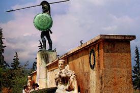 Thermopylae_Greece_Spartans_monument_of_Leonidas