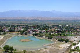 Pamukkale-Valley-Town-Turkey